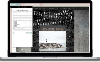 Personalise your Wedding Website & Digital Invitations